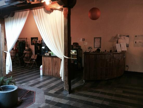 Pure Natural Health & Fitness Center : Reception Desk with Personable Staff at Pure Spa and Gym