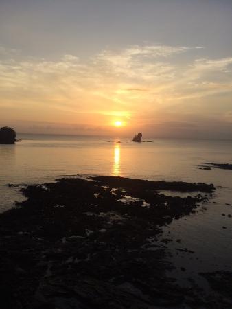 San Jose Island, Panama: Sunrise from Cabin #10