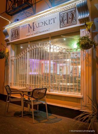 The Market Bar: Front entrance