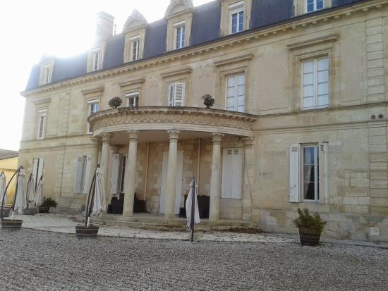 Chateau Pomys: Vu de derrière