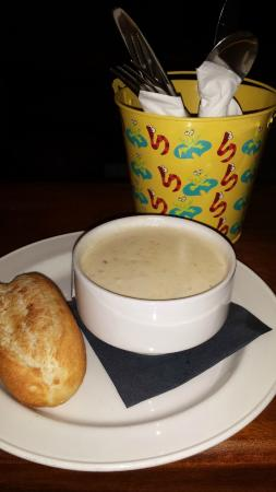 Holborn Hotel: Cullen Skink (creamy smoked fish soup)