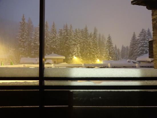 Hotel Arlecchino: Vista dalla camera