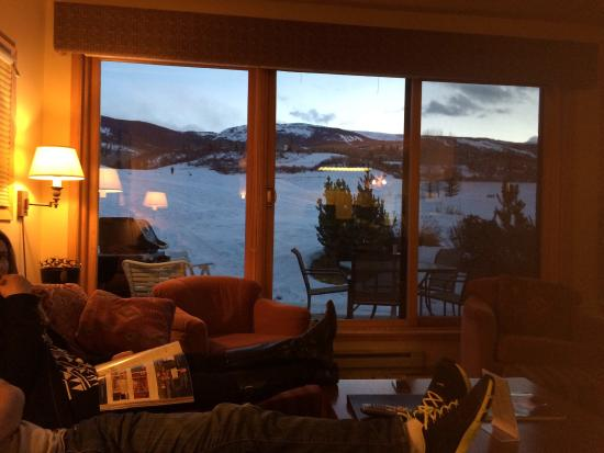 The Villas at Snowmass Club: Lugar aconchegante e com linda vista!