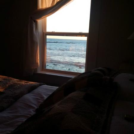 Oceanstone Resort: View from upstairs bedroom in Captains House