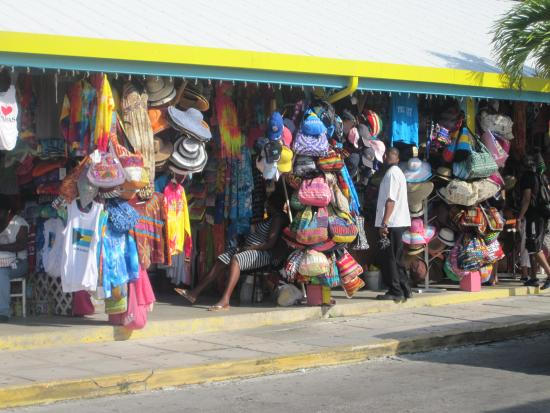 Straw market picture of port lucaya marketplace for Bahamas fish market