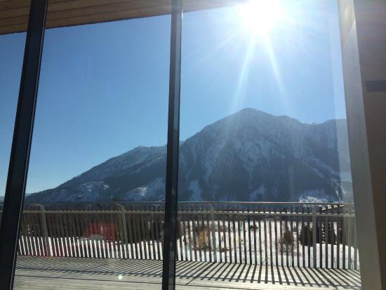 Narzissen Vital Resort: Blick links vom Dachstein