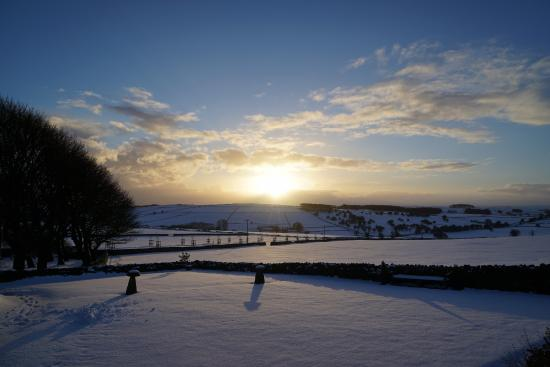 Uppermoor Farmhouse and Holiday Cottages: Beautiful views from the Farmhouse