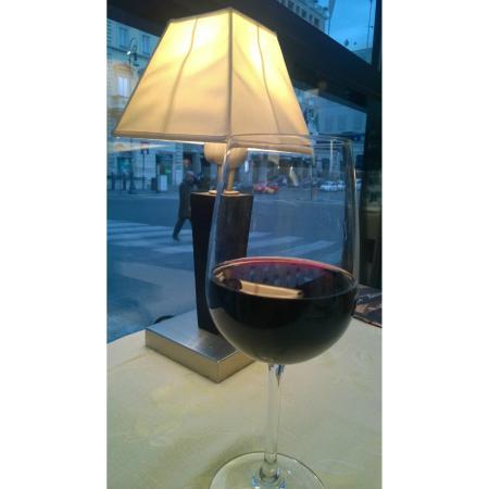 Conte di Galluccio : Um ótimo vinho e uma bela vista de Roma