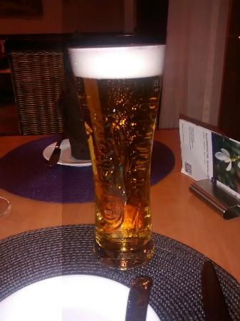 Mercure Hotel Itzehoe Klosterforst: Beer in the restaurant