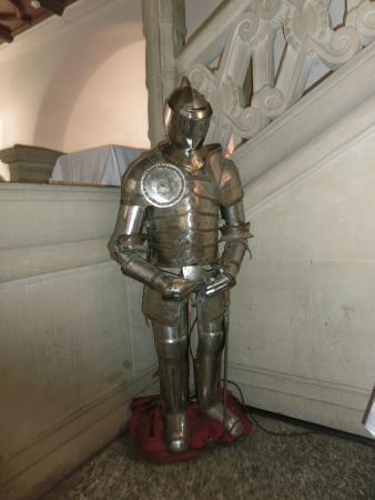 Grevenbroich, Germany: Vor dem Rittersaal in dem Schloss