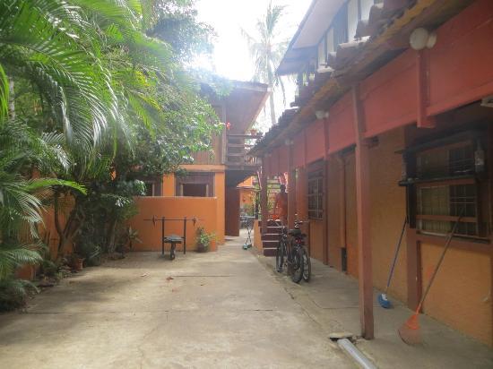 Iguana Inn: Vista general de la casa