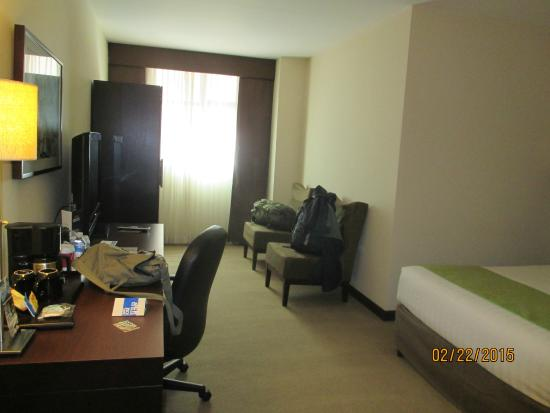 Tryp by Wyndham San Jose Sabana: Fairly large room