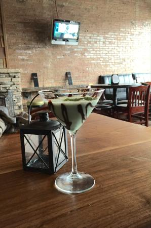 Derailed Pour House: The Dirty Girlscout Martini!
