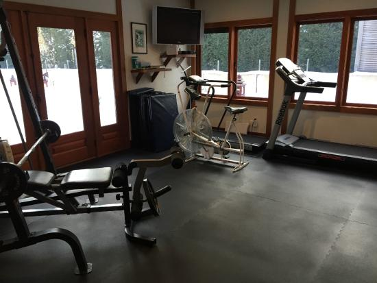 East Hampton Art House Bed and Breakfast: Gym