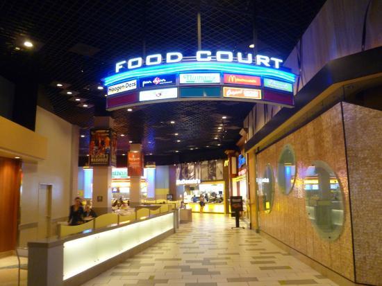 Excalibur casino food court