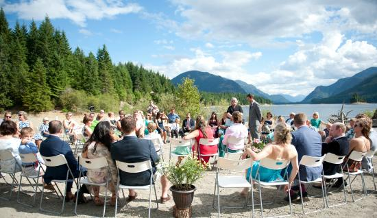 Strathcona Park Lodge & Outdoor Education Centre: Wedding Ceremony