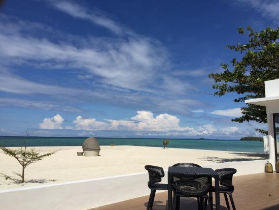 Kandaya Resort: View from the restaurant.