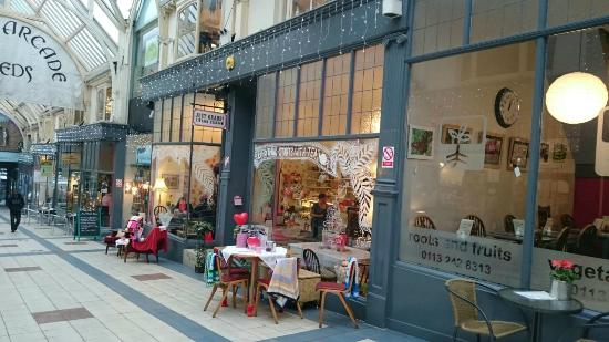 Vintage Tea Rooms Grand Arcade Leeds