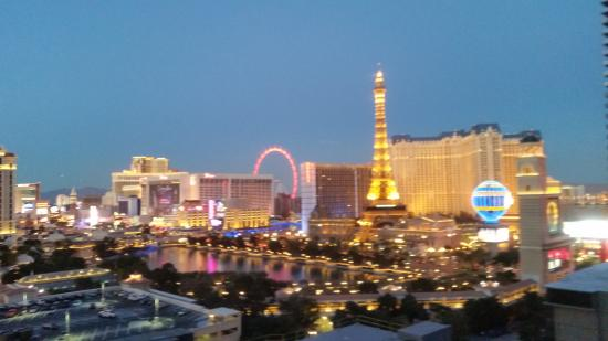 The Cosmopolitan Of Las Vegas Autograph Collection View From Balcony