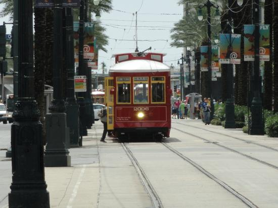 Canal st Trolly right out front !