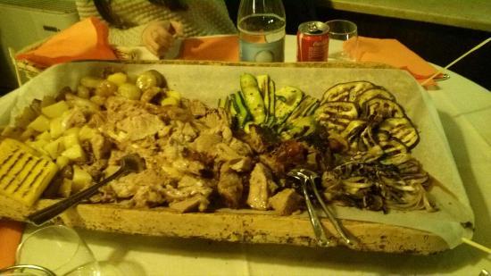 Istrana, Italia: piatto magnifico!