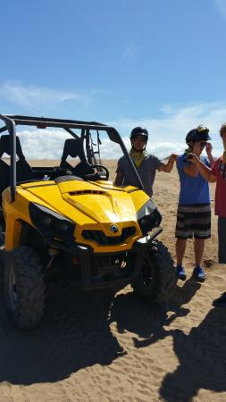 G-Force Adventures: Beach stop