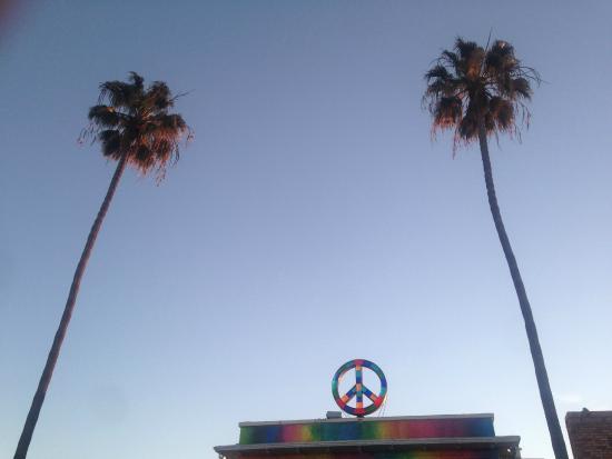 USA Hostels Ocean Beach: front of hostel