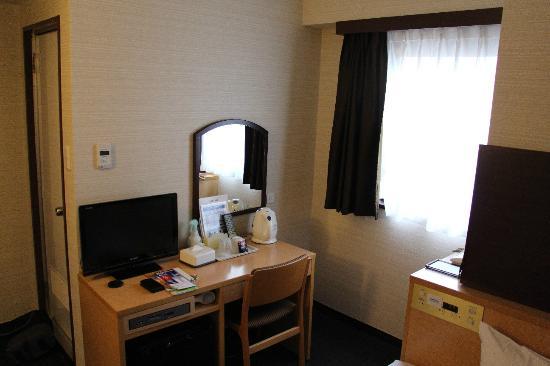 Ueno First City Hotel: Single room