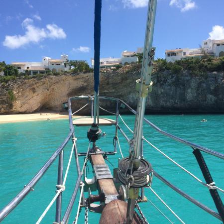 bahía de Simpson, St. Maarten: Snorkel spot