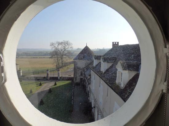 Chateau de la Resle : Room with a View
