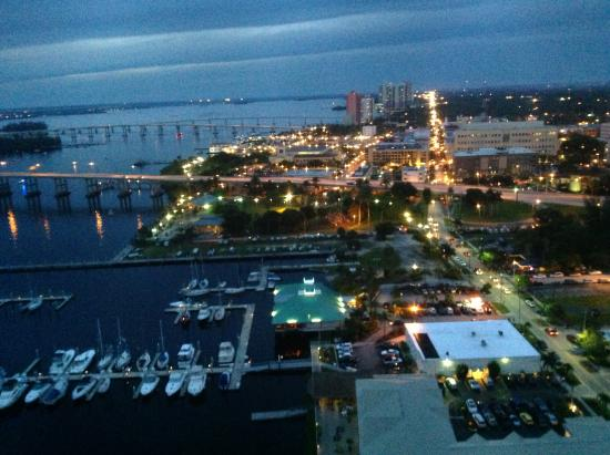 City view at night Picture of Fort Myers River District Fort