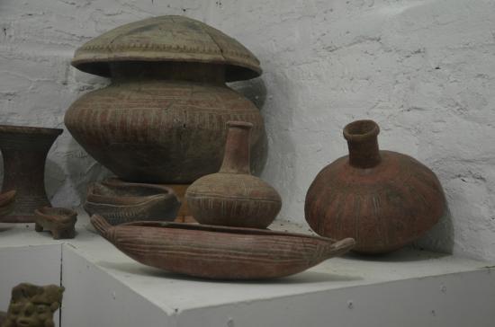 Museum El Ceibo: Peça arqueológica