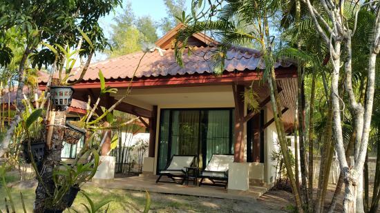 The Kib Resort & Spa: front view on garden