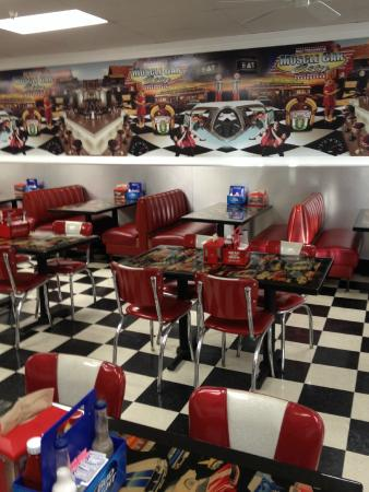 Real 1950s Diner Picture Of Muscle Car City Museum Punta Gorda