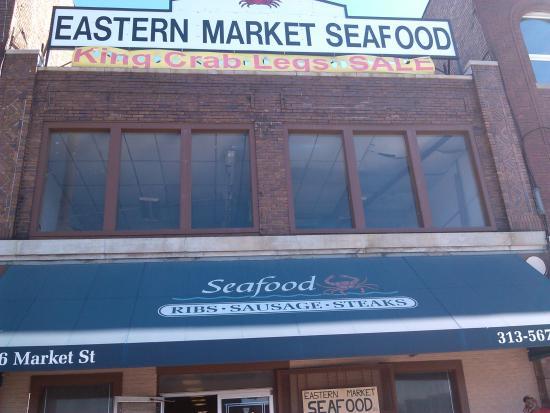 Eastern market seafood co detroit restaurant reviews for Detroit fish market