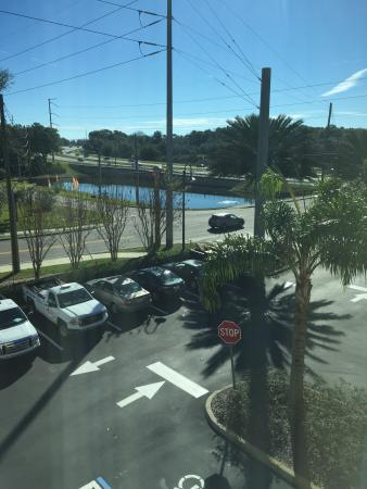 Holiday Inn Express Hotel & Suites Orlando-Apopka : View from room
