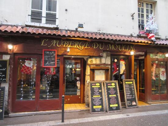 Paris, Frankrike: Café on the left bank