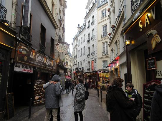 Paris, Frankrike: Rue de la Huchette