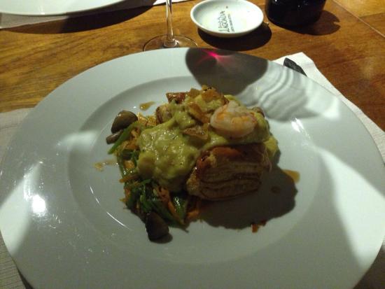 Casa da Dizima: Folhado de bacalhau! Menu restaurant Week Março 2015