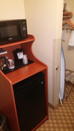 Country Inn & Suites By Carlson, Watertown: Fridge