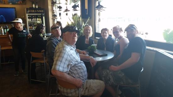 Taste of Catalina Food Tours : Part of our group at the last stop of the day!