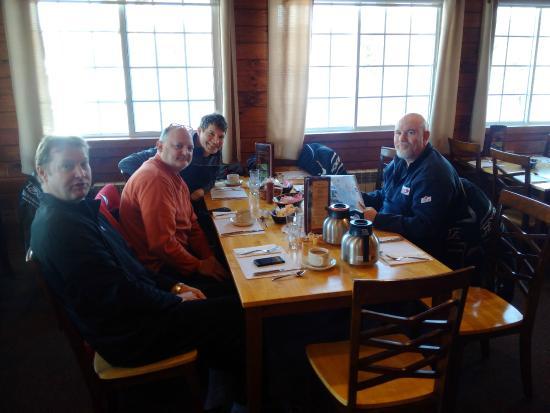 Ahmic Lake Resort: The sled group