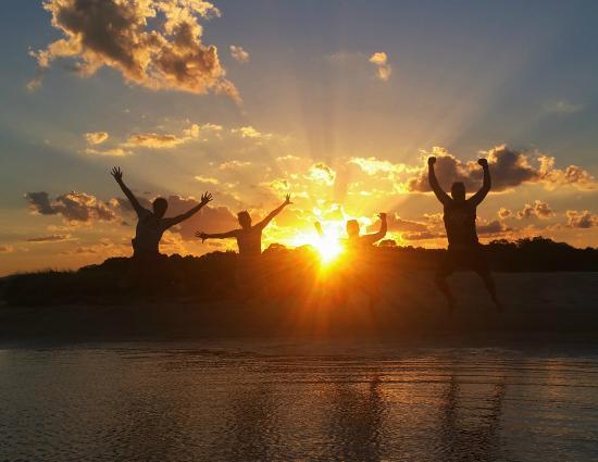 Boardwalk Boat Hire: Sunset Tour