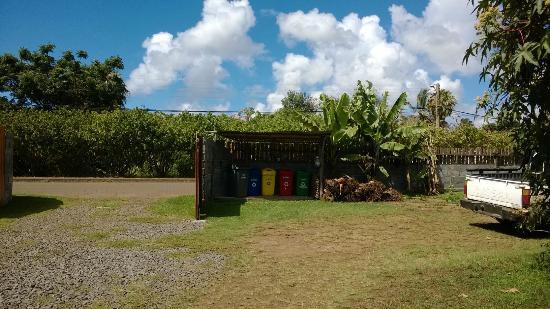 Hostal Cabanas Aorangi: En estas cabañas la basura se separa