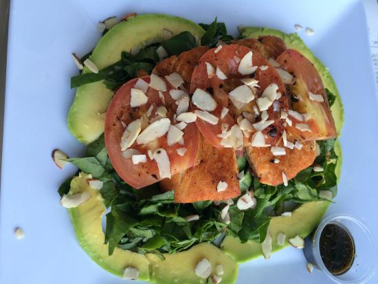Ensalada salmon y aguacate picture of ph 7 4 cartagena - Ensalada salmon y aguacate ...
