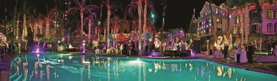 The Mission Inn Hotel and Spa: Festival of Lights Poolside