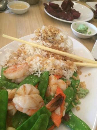Canton Asian Bistro: Great shrimp!