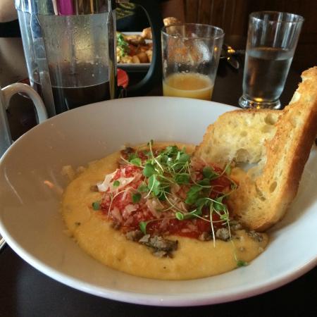 Breakfast Polenta - Picture of Trattoria Al Forno, Orlando ...