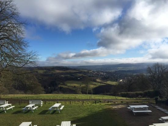 The Hare and Hounds: Stunning View