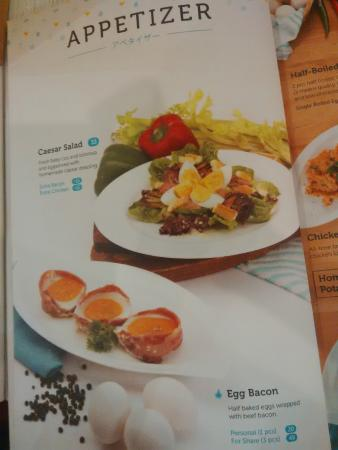 Menu At Sunny Side Up Restaurant Picture Of Sunny Side Up Jakarta